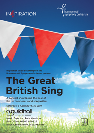 The Great British Sing with Inspiration Southampton and Bournemouth Symphony Orchestra