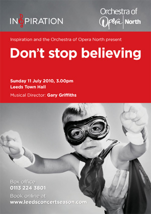 Don't Stop Believing Concert Flyer