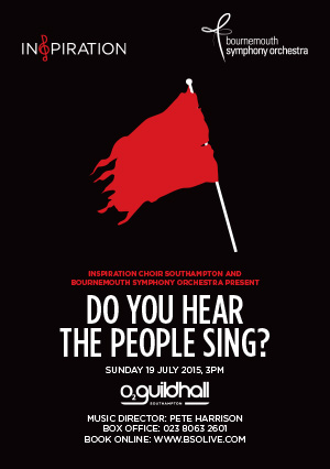 Inspiration Southampton and Bournemouth Symphony Orchestra present Do You Hear The People Sing?