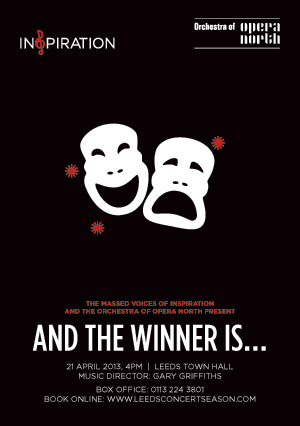 Inspiration and The Orchestra of Opera North present  'And The Winner Is…' – Leeds Town Hall