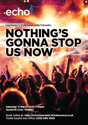 Echo presents: Nothing's Gonna Stop Us