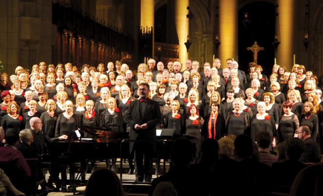 Inspiration, a community choir group based in Newcastle and Leeds